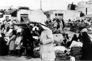 Palestinians being expelled from Lydda in 1948 during Operation Dani. (Palmach archive).