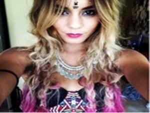 Vanessa Hudgens Bindi/Face Jewels