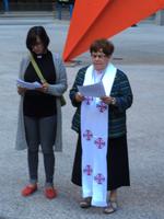 Pastor Emily Heitzman and Pastor Joanne Fitzgerald