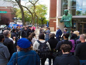 Photo from DePaul Students Against Torture