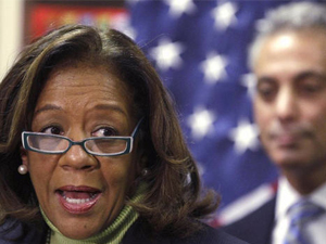 Indicted CPS CEO Barbara Byrd-Bennett