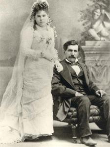 Gertrudis Serna and Hadji Ali (Hi Jolly)