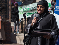 Dr. Aila Ammar of the Muslim Community Center