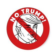 Chicago Trump Protest Logo