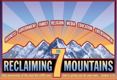 Seven Mountains Dominionists instructs Christians to take control of the seven spheres that shape human society.