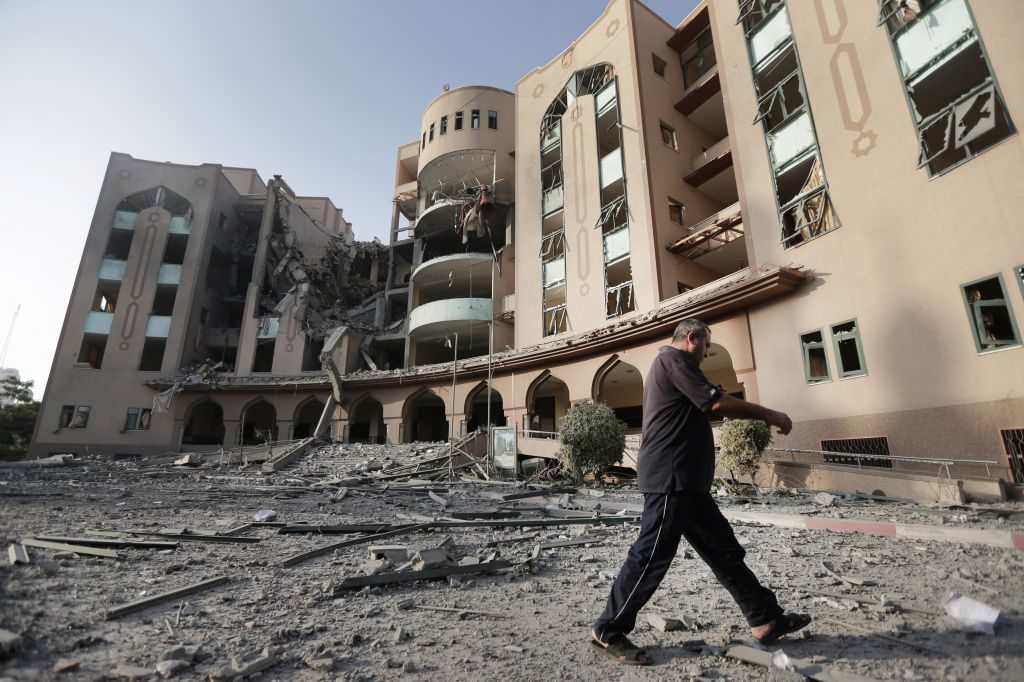 Islamic University of Gaza (AP Photo/Lefteris Pitarakis)