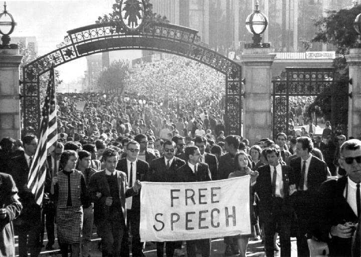 Berkley Free Speech Movement 1964